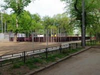 Samara, st Gvardeyskaya. sports ground