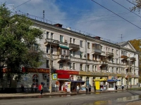 neighbour house: st. Sevastopolskaya, house 43. Apartment house with a store on the ground-floor