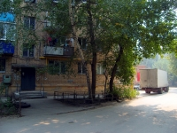Samara, Yubileynaya st, house 3. Apartment house with a store on the ground-floor