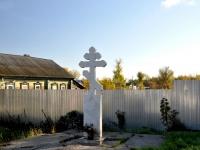 Самара, улица Главная. памятный знак Поклонный крест