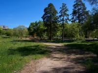Samara, st Pribrezhnaya (Pribrezhny). public garden