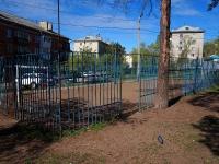 Samara, st Parusnaya (Pribrezhny). sports ground