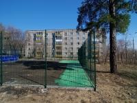 Samara, Pribrezhnaya (Pribrezhny) st, house 12. Apartment house
