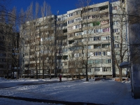 Samara, alley Novomolodezhny, house 1. Apartment house