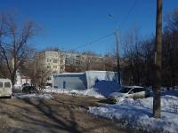 Samara, alley Novomolodezhny. service building