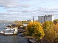 Самара, улица Халиловская, дом 2. завод (фабрика) Самарский мукомольный завод