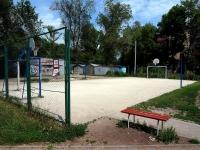 Самара, улица Александра Матросова. спортивная площадка