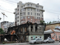 Samara, Galaktionovskaya st, house 149. vacant building