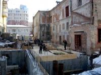Samara, Galaktionovskaya st, house 102. building under reconstruction