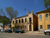 Samara, Kuybyshev st, house 38. vacant building