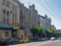 neighbour house: st. Kuybyshev, house 107. Apartment house with a store on the ground-floor