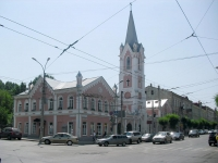 соседний дом: ул. Куйбышева, дом 115. церковь Еванчелическо-лютеранская кирха Святого Георга