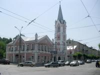 neighbour house: st. Kuybyshev, house 115. church Еванчелическо-лютеранская кирха Святого Георга