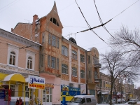 Samara, Kuybyshev st, house 71. Apartment house with a store on the ground-floor