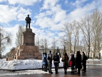 萨马拉市, 纪念碑 В.И. ЛенинуKuybyshev st, 纪念碑 В.И. Ленину
