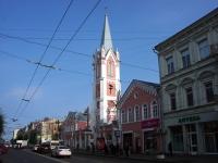 Samara, church Еванчелическо-лютеранская кирха Святого Георга, Kuybyshev st, house 115/117