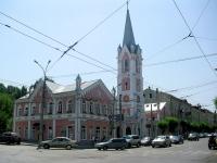 Самара, церковь Еванчелическо-лютеранская кирха Святого Георга, улица Куйбышева, дом 115/117