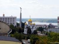 Samara, temple Во имя великомученика Георгия Победоносца, Mayakovsky st, house 11