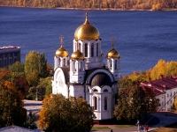 隔壁房屋: st. Mayakovsky, 房屋 11. 寺庙 Во имя великомученика Георгия Победоносца