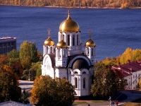neighbour house: st. Mayakovsky, house 11. temple Во имя великомученика Георгия Победоносца
