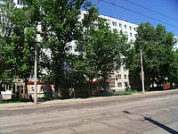 Samara, Michurin st, house 48. Apartment house