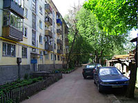 neighbour house: st. Michurin, house 122. Apartment house