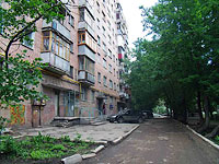 Samara, Moskovskoe 24 km , house 28. Apartment house with a store on the ground-floor