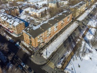 neighbour house: . Moskovskoe 24 km, house 10. Apartment house with a store on the ground-floor