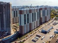 Самара, Московское шоссе, дом 27. многоквартирный дом
