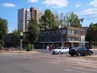 neighbour house: st. Antonova-Ovseenko, house 51. technical school Самарский механико-технологический техникум