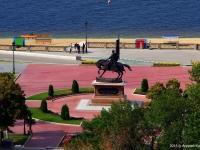 Самара, улица Полевая. памятник князю Григорию Засекину