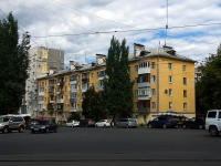 neighbour house: st. Polevaya, house 54. Apartment house with a store on the ground-floor