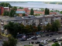 Samara, st Polevaya, house 7. Apartment house with a store on the ground-floor