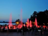 Самара, Волжский проспект. фонтан Поющие фонтаны