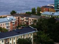 Samara, Volzhskiy avenue, house 47. Apartment house