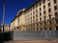 Samara, Samarskaya st, house 203Б. building under reconstruction