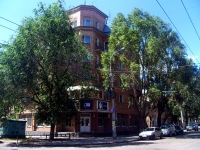 Samara, Chapaevskaya st, house 124. Apartment house