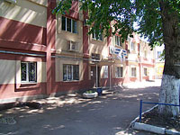 "neighbour house: st. Bolnichnaya, house 1Б. housing service ""Самарагаз ООО СВГК"""