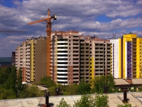 Samara, st Gaya, house 27А/СТР. building under construction