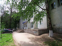 "neighbour house: st. Yeroshevskogo, house 1А. sport center ""Спартак"""