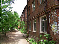 neighbour house: st. Yeroshevskogo, house 2. Apartment house