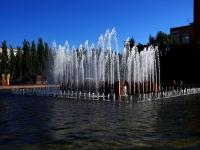 Samara, avenue Lenin. fountain
