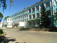 соседний дом: ул. Луначарского, дом 12. колледж Поволжский государственный колледж