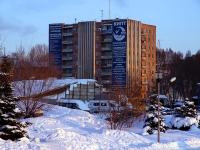 Самара, общежитие Общежитие №1 Поволжского государственного колледжа, улица Луначарского, дом 14А
