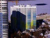 Samara, st Shmidt, house 10/СТР. building under construction