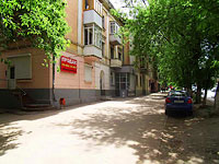 Samara, Maslennikova venue, house 8. Apartment house