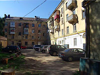 neighbour house: venue. Maslennikova, house 15. Apartment house