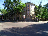 Samara, Maslennikova venue, house 15. Apartment house