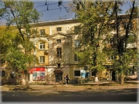 Samara, Maslennikova venue, house 16. Apartment house with a store on the ground-floor