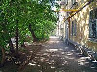 Samara, Maslennikova venue, house 17. Apartment house with a store on the ground-floor